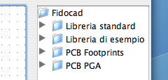 FidoCadJ libraries.