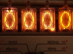1973 Nixie frequency counter