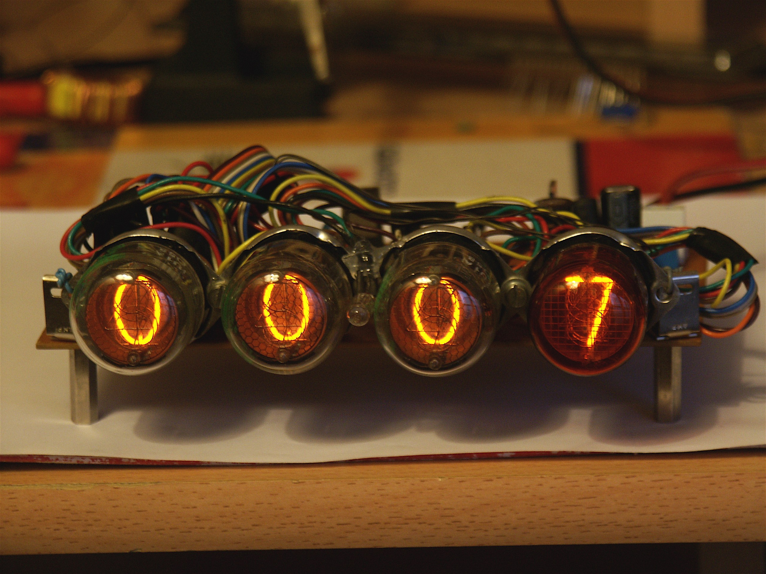 A Nixie Tube Clock Davide Bucci Diagram Free Download Wiring Diagrams Pictures The Complete