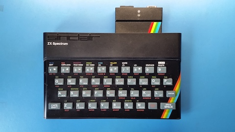 divMMC and my ZX Spectrum 48K.